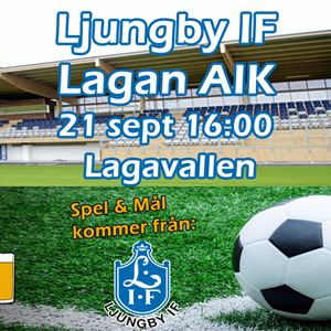 Ljungby IF - Lagans AIK