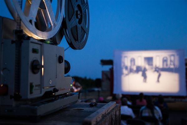 © Trelleborgs kommun, Outdoor cinema with classic silent films to live music
