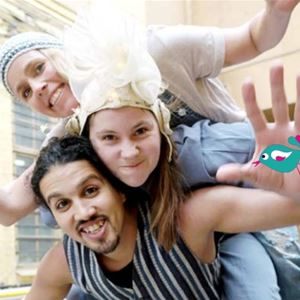 Nycirkus: Flygare med Kompani Hint och Cirkus Saga
