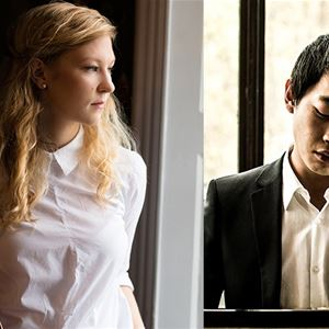 Amalie Stalheim, cello och David Huang, piano