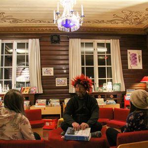 Sommarboken på biblioteket i Storuman
