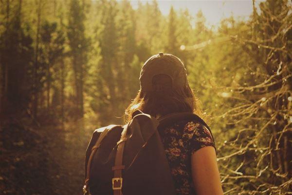 © Temina hemsida, Mindful vandring med vilsamt boende på Klåveröds vandrarhem