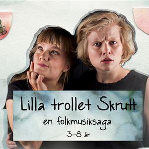 Familjedag med barnföreställningen Lilla trollet Srutt
