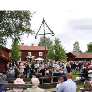 Midsommarafton på Norrbärke Hembygdsgård