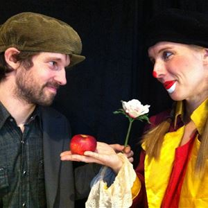 Clownen och städaren
