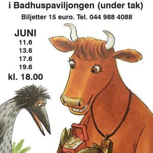 Teater Kuling i Badhuspaviljongen: Mamma Mu och Kråkan