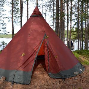 Övernattning i Lögdö Vildmark med Indal och Lidens fritidsgård