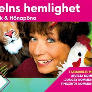 Scensommar: Djungelns Hemlighet med Eva Funck och Höna Pöna