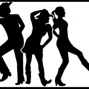 Linedance på Forsbryggan
