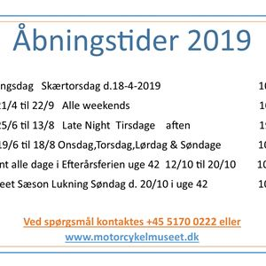 Late Night på Danmarks Motorcykelmuseum i Stubbekøbing