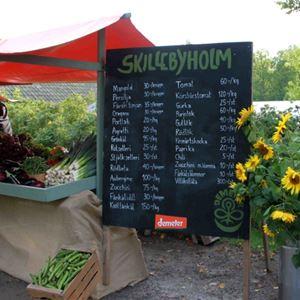 Höstmarknad på Skillebyholm