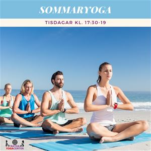 Summeryoga in Karlskrona, for your body and soul