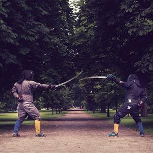 Sommar på Trelleborgen - Historisk kampsport