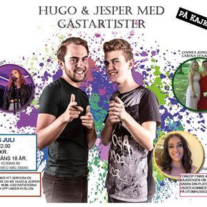 Hugo & Jesper med gästartister