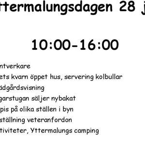Västerdalsveckan V30 - Yttermalungsdagen 28 juli