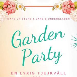 Garden Party hos Janes Underkläder