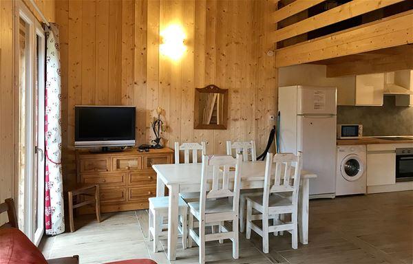 3 pièces + mezzanine 6 personnes / APPARTEMENT AUGUSTINE (Montagne de Charme)