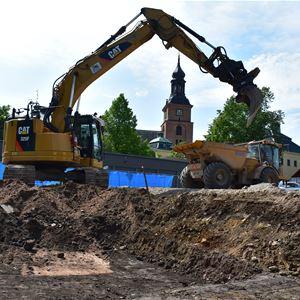 Arkeologi vid Gamla Posten