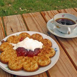 Waffle Café in Odensjö