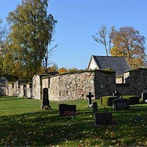 Visning av Älmeboda gamla kyrka