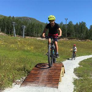 Bornas sykkelfestival i Myrkdalen