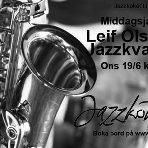 Foto: Jazzköket,  © Copy: Jazzköket, JAZZ KITCHEN LIVE - DINNER JAZZ M. LEIF OLSSON JAZZQUARTET