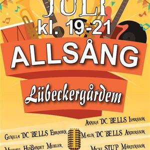 Allsång på Lübeckergården i hjärtat av Simrishamn