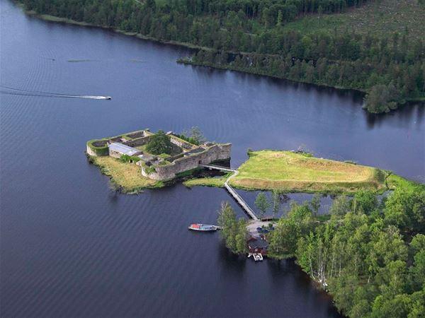 Visning av Kronobergs slottsruin