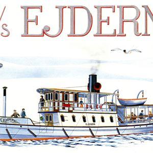 Båttur med S/S Ejdern till Drottningholm eller Stockholm.