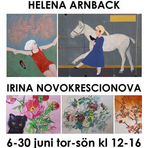 Helena Arnback & Irina Novokrescionova