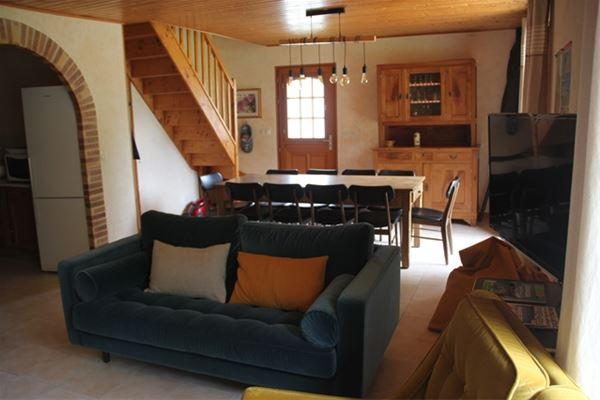 VLG352 - Belle maison indépendante avec vue sur le fond de vallée