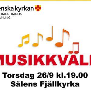 Musikkväll Sälens Fjällkyrka i Sälen