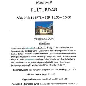 Kulturdag -  Bjurbäcks Hembygdsförening