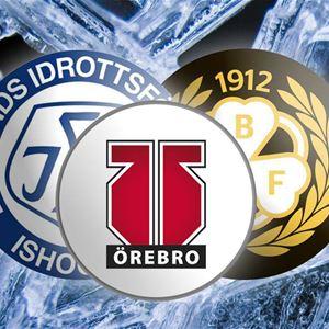 Hockeyfest i Ludvika, Leksand IF vs Brynäs IF