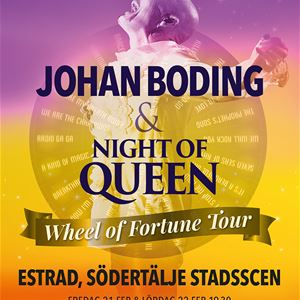 Johan Boding & Night of Queen – Wheel of Fortune Tour