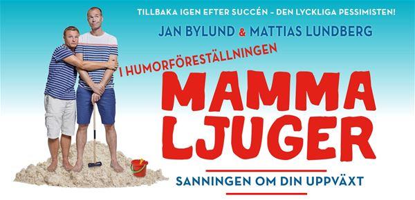 © http://www.mammaljuger.se/, INSTÄLLT / FRAMFLYTTAT - Mamma Ljuger