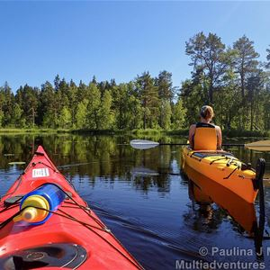 Paulina J Merkell,  © Paulina J Merkell / Multiadventures, Paddling i Färnebofjärdens nationalpark