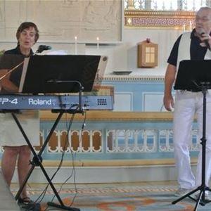 Musik i sommarkväll - Lidhults kyrka - Ylva och Ove Ericsson.
