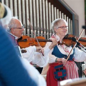 Musik i sommarkväll - Odensjö kyrka - Bygdeton