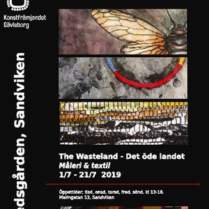 The Wasteland - Det öde landet Måleri & textil