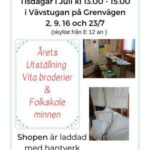 Öppet hus i Vävstugan Tärnaby