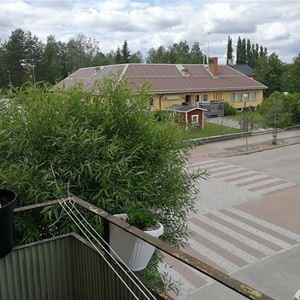 Vansbrosimningen. Privatrum V107, Norra allégatan, Vansbro.
