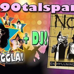 80-90 talsparty med Noice Fever & 100% UGGLA + DJ