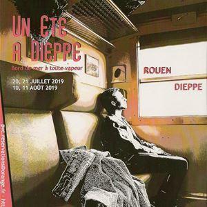 Sorties en train à vapeur pour Dieppe - ETE 2019