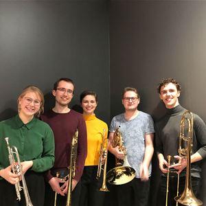 Sommarkonsert - Liljan Brasskvintett