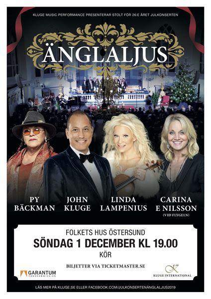 Julkonsert Änglaljus 2019