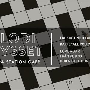 © Norra station Café, Melodikrysset på Norra station Café