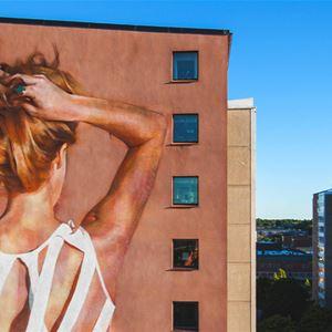 Artscape 2019 Gatukonst Kultur Hälsingland