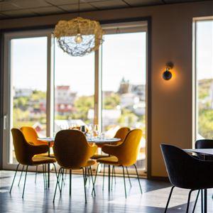© Lofoten Rorbuhotell, Havet Restaurant på Lofoten Rorbuhotell