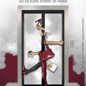 Festival Rire en Seine : spectacle d'improvisation par le quatuor de l'ascenseur